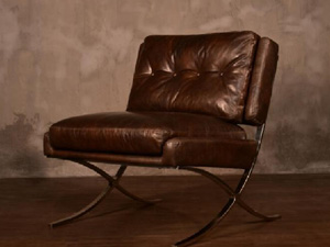 Aviator Chair Vintage Leather Chair Industrial Chair