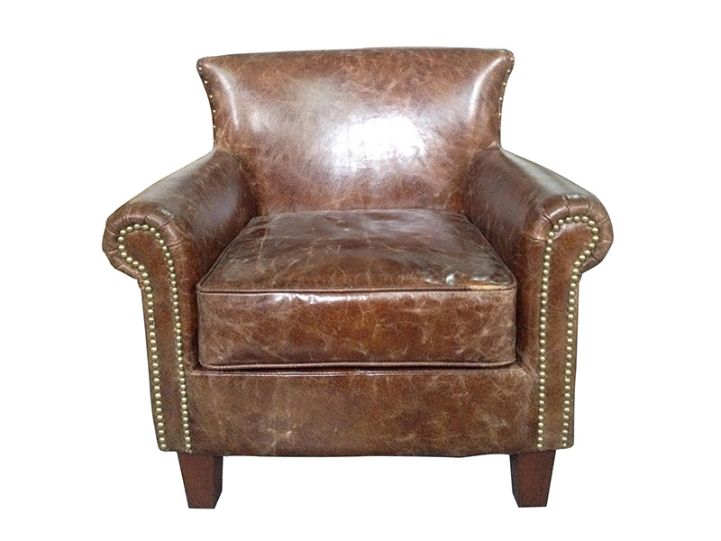 Leather Armchair;Old Leather Armchair;Distressed Leather ...