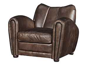 Tub Antique Leather Chair ...