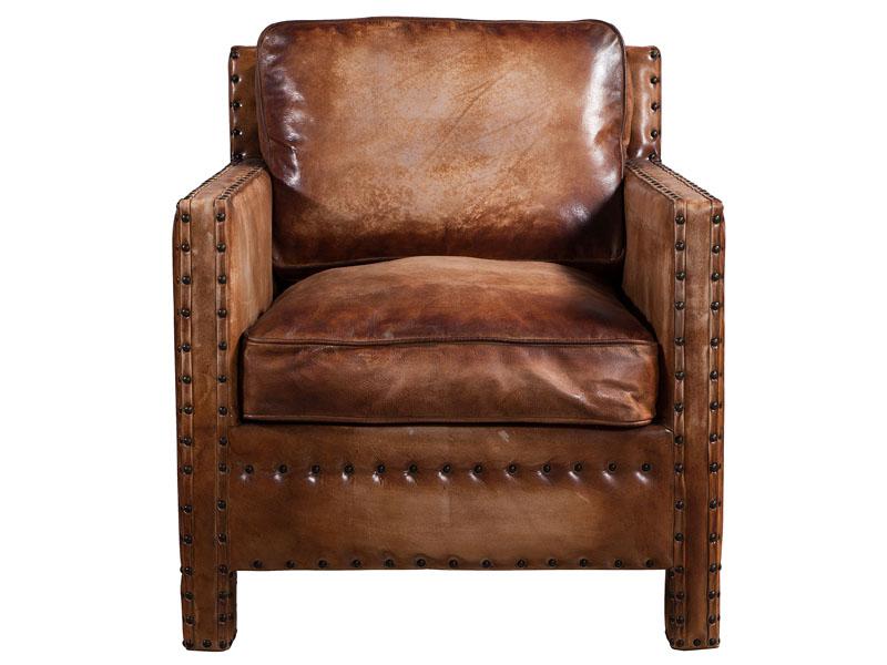 Super Vintage Leather Chair With Rivets Creativecarmelina Interior Chair Design Creativecarmelinacom